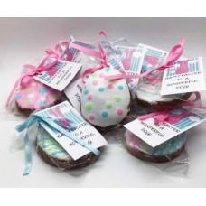 Frosted Easter Eggs